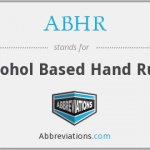 alcohol based hand rubs
