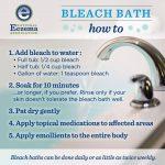 bleach bath eczema