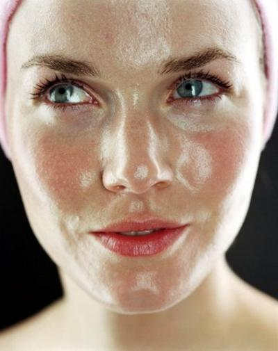 Extremely Oily Skin Pictures Photos