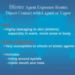 blister agents