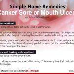 pics of canker sores