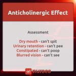anticholinergic effect