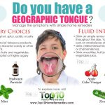 geographic tongue pain